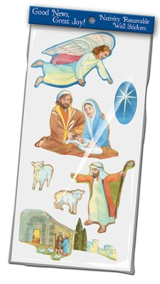 Good News Great Joy, Nativity Wall Stickers  -