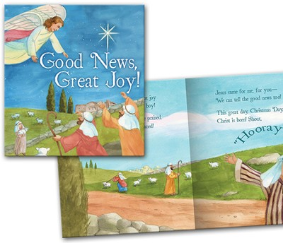 Good News Great Joy Softcover Children's Book  -