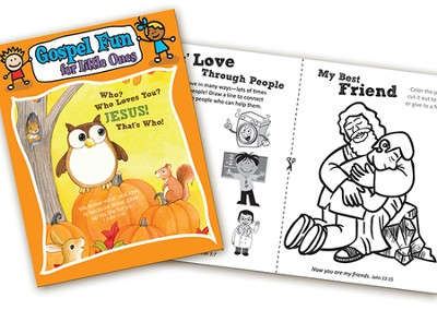Who Loves You? Gospel Fun for Little Ones Activity Book  -