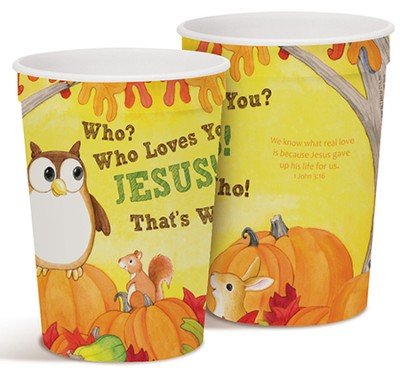 Who Loves You Plastic Party Tumbler  -