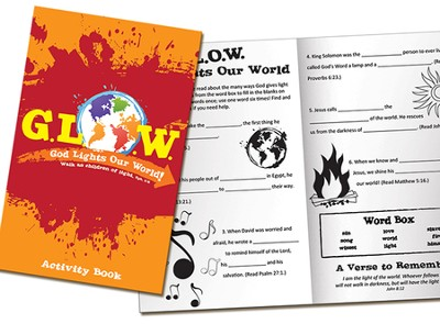 God Lights Our World Newsprint Activity Book  -