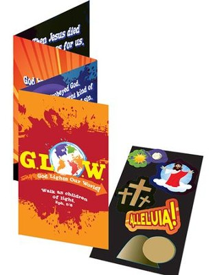 God Lights Our World Activity Booklet with Stickers  -