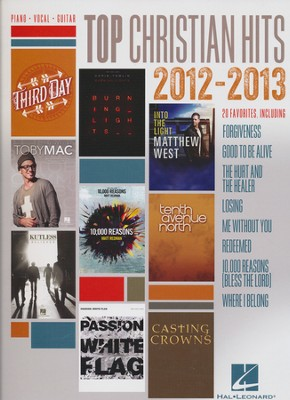 Top Christian Hits 2012-2013 (PVG)   -