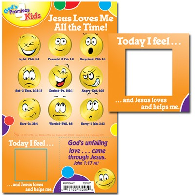 God's Promises for Kids Magnet Activity  -