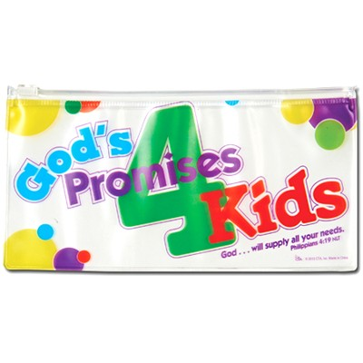God's Promises for Kids Pencil Case  -
