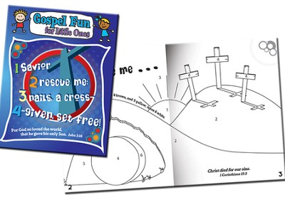 1234 Gospel Fun for Little Ones Activity Book  -
