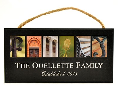 Personalized, Hanging Sign, Family   -