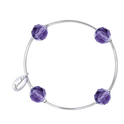 Blessing Bracelet, Friends, Amethyst  -