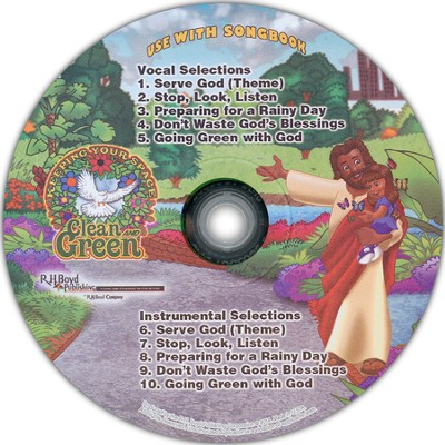 Keeping Your Space Clean and Green VBS CD   -