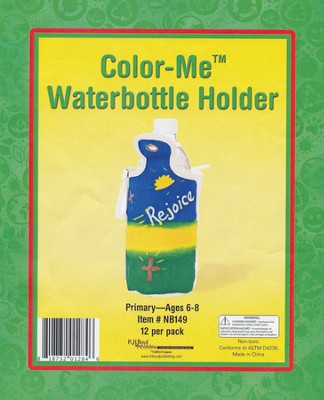 Color-Me Water Bottle Holder, pack of 12  -