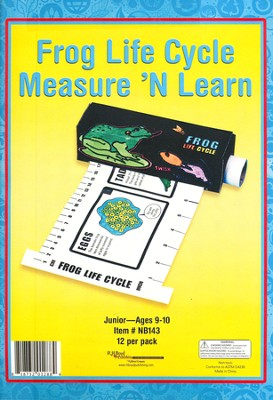 Frog Life Cycle Measure 'N Learn  -