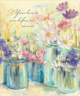 Flowers in Jars--Address Book   -