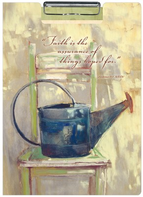 Faithful Watering Can, Portfolio Clipboard  -