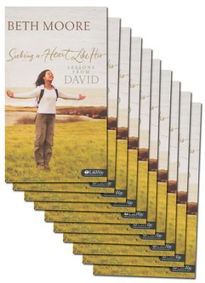 Seeking a Heart Like His: Lessons from David (Pack of 10)  -     By: Beth Moore
