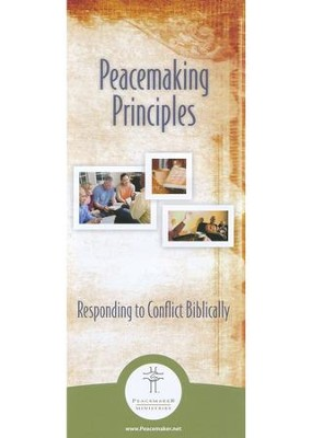 Peacemaking Principles Pamphlet - 10 pk -