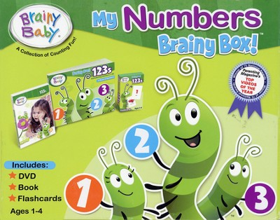My Numbers Brainy Box   -