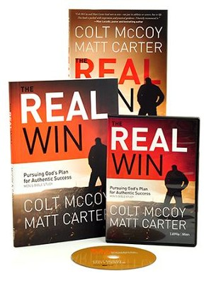 The Real Win: Pursuing God's Plan for Authentic Success, DVD Leader Kit  -     By: Colt McCoy, Matt Carter