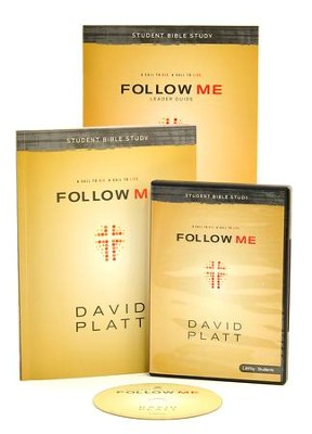Follow Me: Student Bible Study, DVD Leader Kit  -     By: David Platt