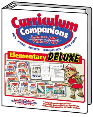 Elementary Curriculum Companions Bundle Deluxe (13 CD-Roms & 9 Binders)  -     By: Arnie Uretsky