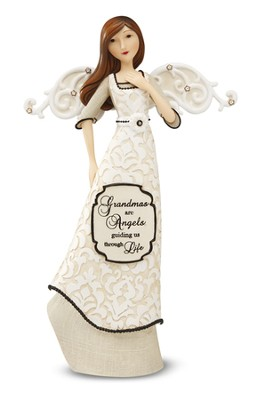 Grandmas are Angels, Angel Figurine  -