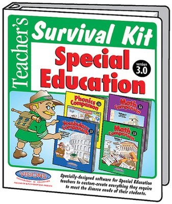 Teacher's Survival Kit Special Education Version 3 Visions Bundle  -
