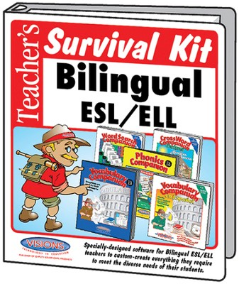 Teacher's Survival Kit ESL Bilingual Visions Bundle   -     By: Arnie Uretsky