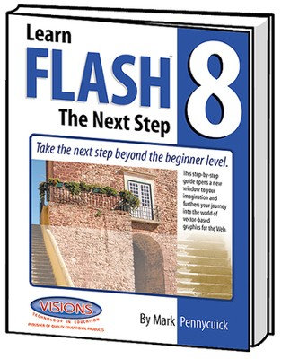 Learn Adobe Flash CS4 Next Step   -     By: Mark Pennycuick