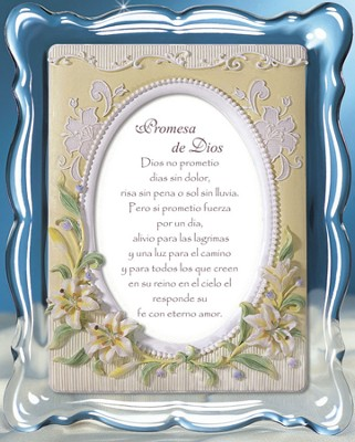 God's Promise Music Frame, Spanish  -