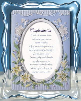 Confirmacion, Confirmation Music Frame, Spanish  -