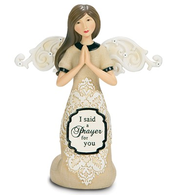I Said A Prayer For You Angel Figurine  -