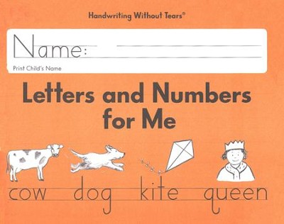 Letters and Numbers for Me Student Workbook Grade K, Updated Edition   -