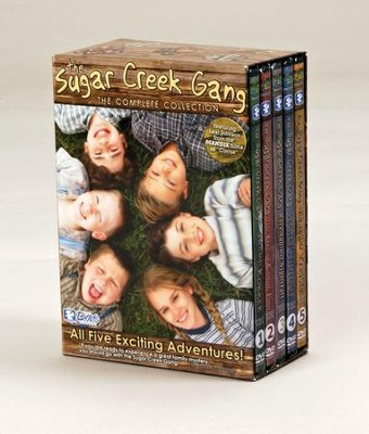 The Sugar Creek Gang: 5 DVD Set   -