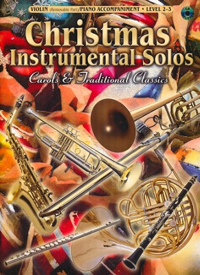 Christmas Instrumental Solos: Carols & Traditional Classics (Violin Book & CD)  -