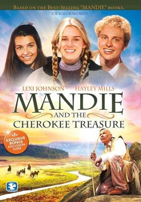 Mandie and the Cherokee Treasure DVD  -