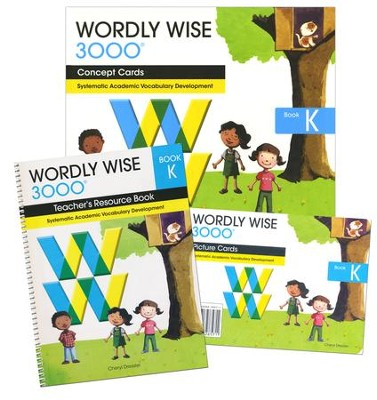 Wordly Wise 3000, Grade K Teacher's Resource Kit   -