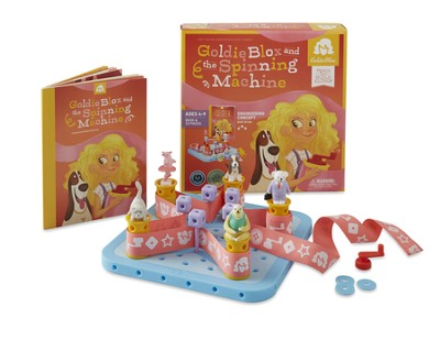 GoldieBlox and the Spinning Machine  -
