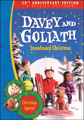 Davey and Goliath's Snowboard Christmas DVD  -