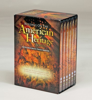 Building on The American Heritage Series (13 episodes on 6 DVDs, boxed set)  -     By: David Barton