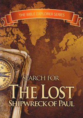 Search for the Lost Shipwreck of Paul, DVD   -