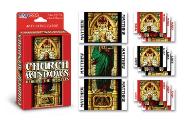 Church Windows: Rebuild the Apostles   -
