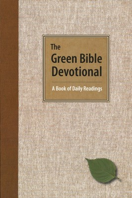 The Green Bible Devotional: A Book of Daily Readings   -