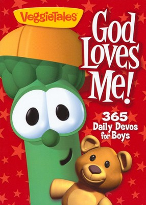 God Loves Me!: 365 Daily Devos for Boys   -