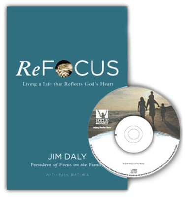 ReFocus book and broadcast bundle   -     By: Jim Daly