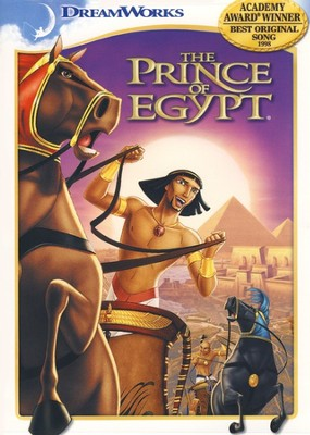 The Prince of Egypt, DVD   -