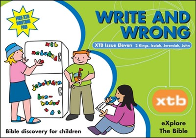XTB 11: Write and Wrong  -     By: Alison Mitchell