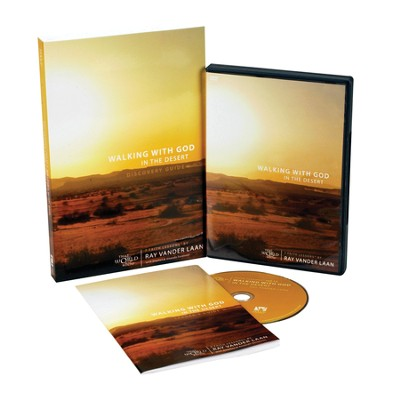 Walking with God in the Desert Faith Lessons Pack:   Discovery Guide and DVD  -     By: Ray Vander Laan, Steve Sorenson, Amanda Sorenson