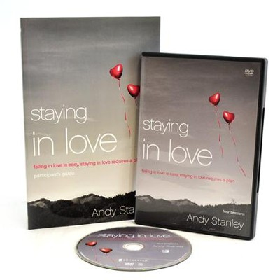 Staying in Love: Falling in Love is Easy Staying in Love Requires a Plan Pack, Participant's Guide & DVD  -     By: Andy Stanley