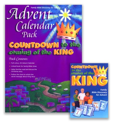 The Coming of the King, Advent Calendar Pack  -     By: Alison Mitchell