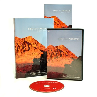 Fire on the Mountain Faith Lessons Pack:  Discovery Guide and DVD  -     By: Ray Vander Laan