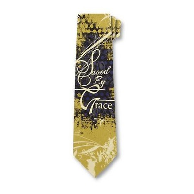 Saved By Grace Tie   -